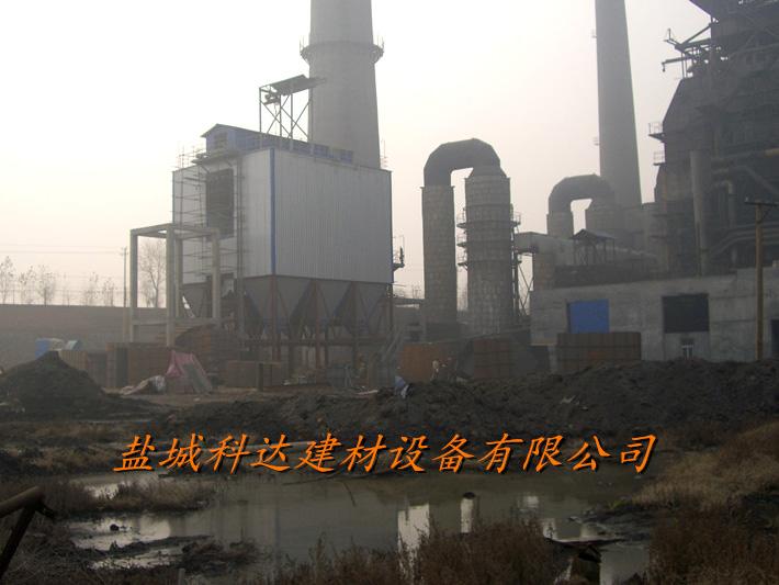 三门峡捷马化工130T锅炉配套低压长布袋