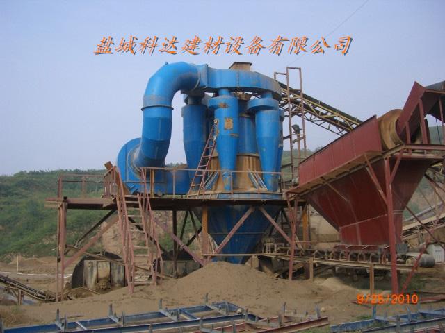 山西夏县150T沙石生产线配套沙石风选机